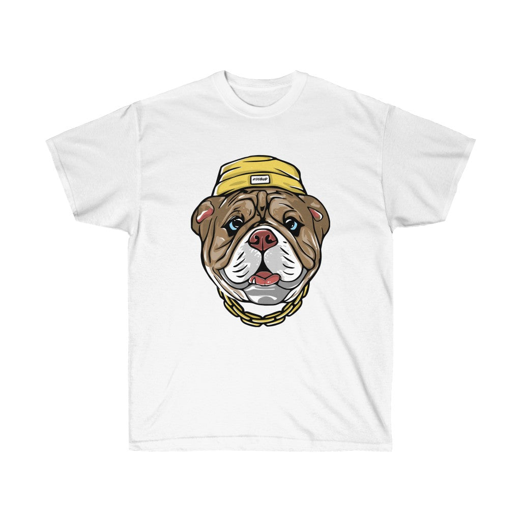 Unisex Ultra Cotton Tee with cool dog