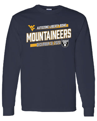West Virginia Slant Long Sleeve