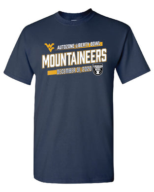 West Virginia Slant Short Sleeve