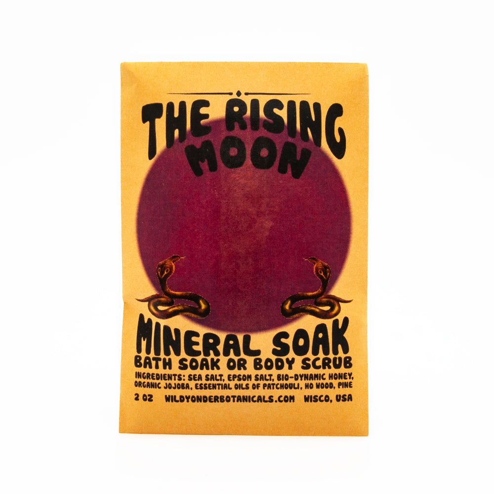 The Rising Moon Bath Salt Soak