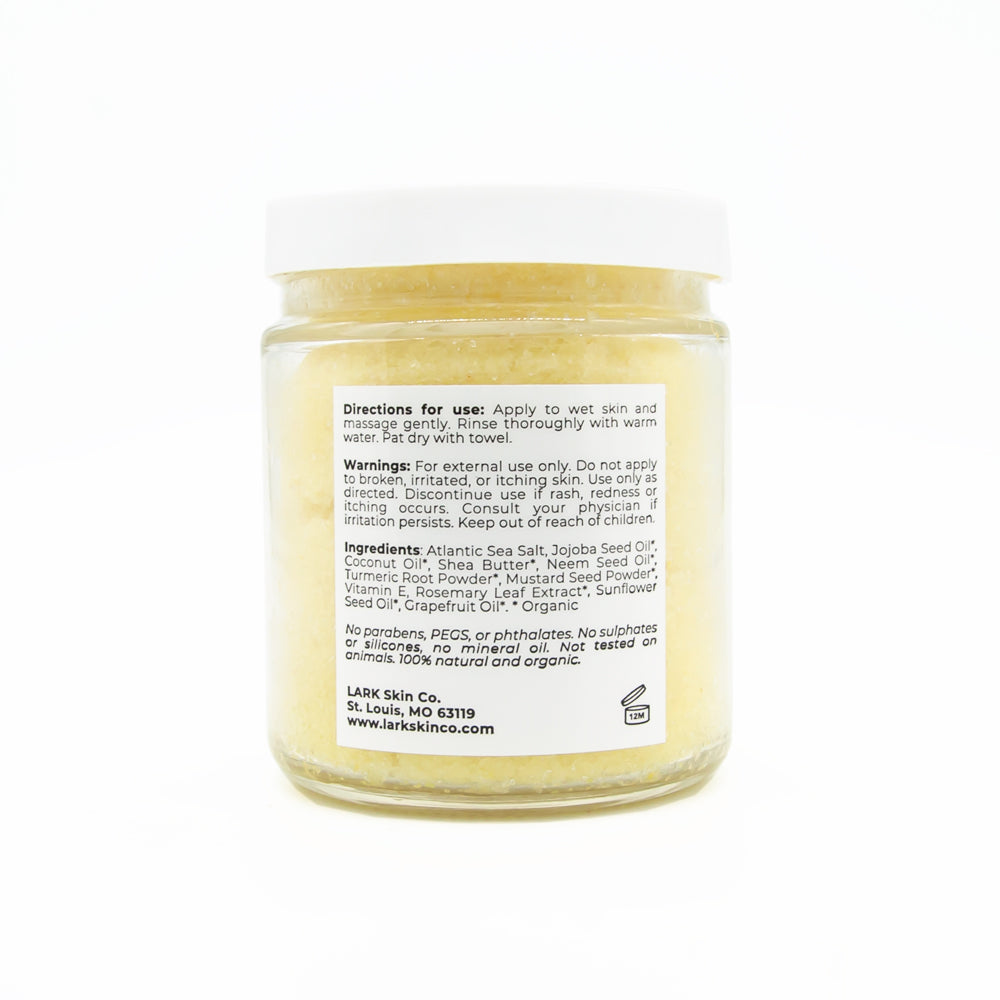 Golden Tumeric Body Scrub