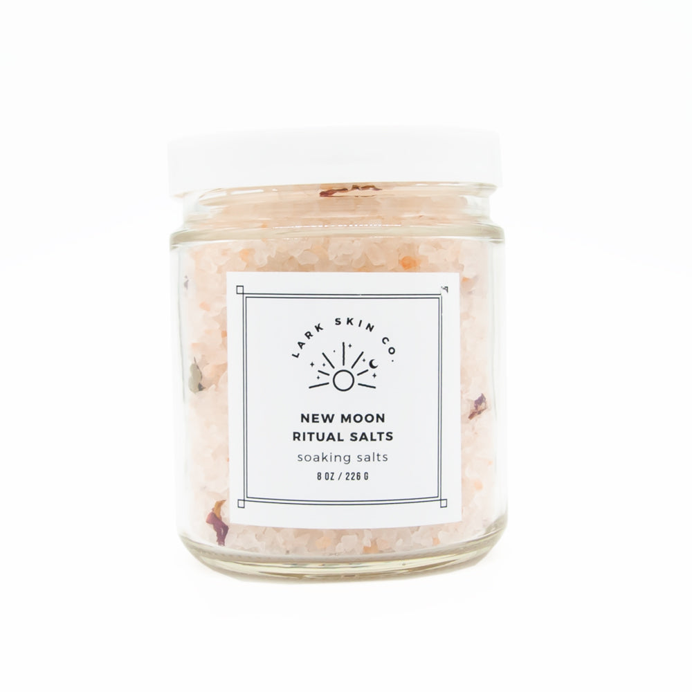 New Moon Ritual Bath Salt Soak