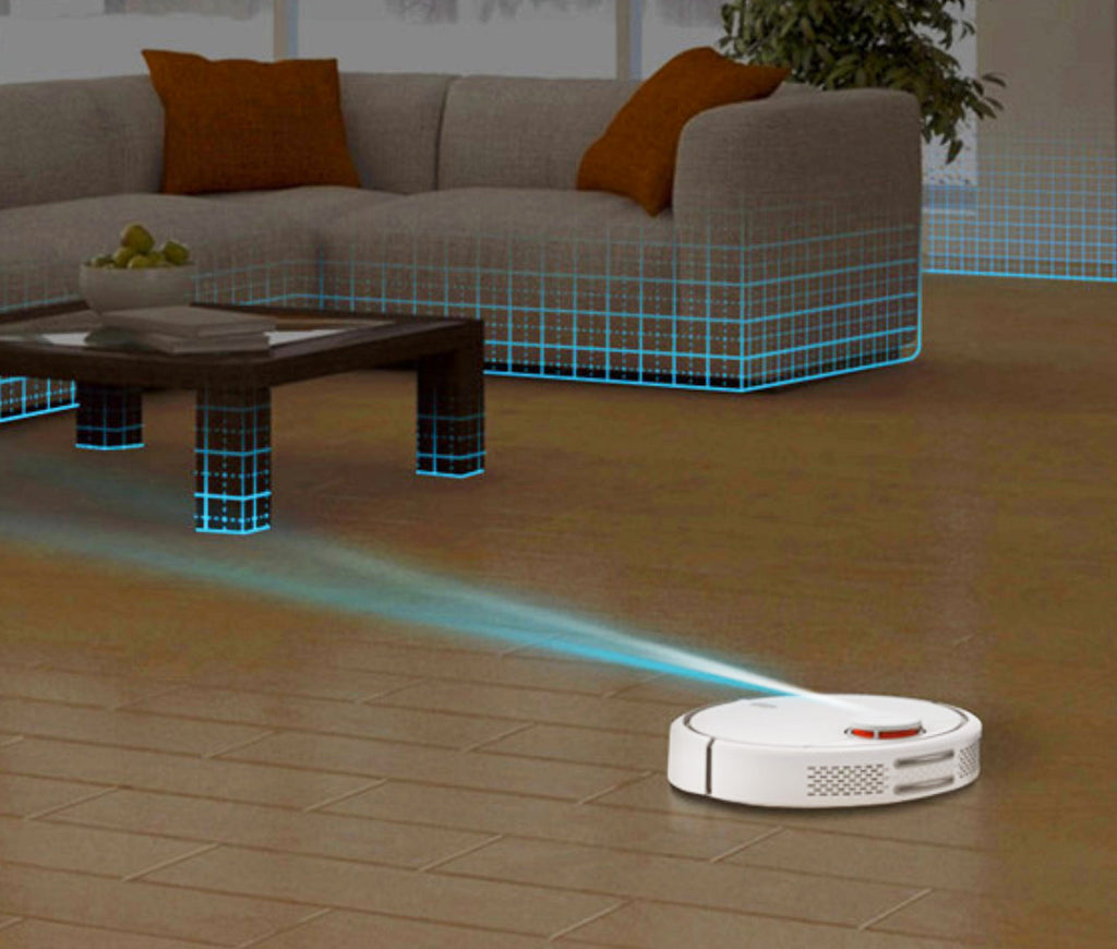 Robot Vacuum Cleaner - Robotic Smart Planned Type, App Control, Auto Charge, LDS Scan Mapping