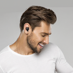 Bluetooth Headset Wireless Hands-free For Car Driving / Listening to Music Earbud Earphone