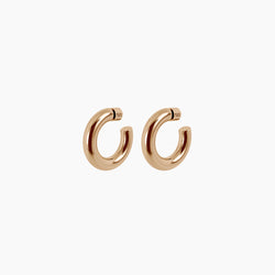 "1.5"" Ava Hoops Gold Vermeil"