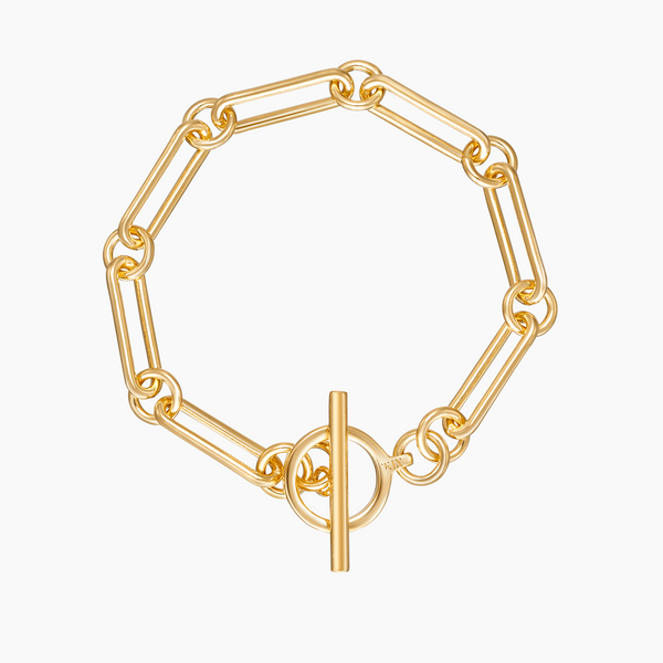 Bar Toggle Bracelet Gold Vermeil