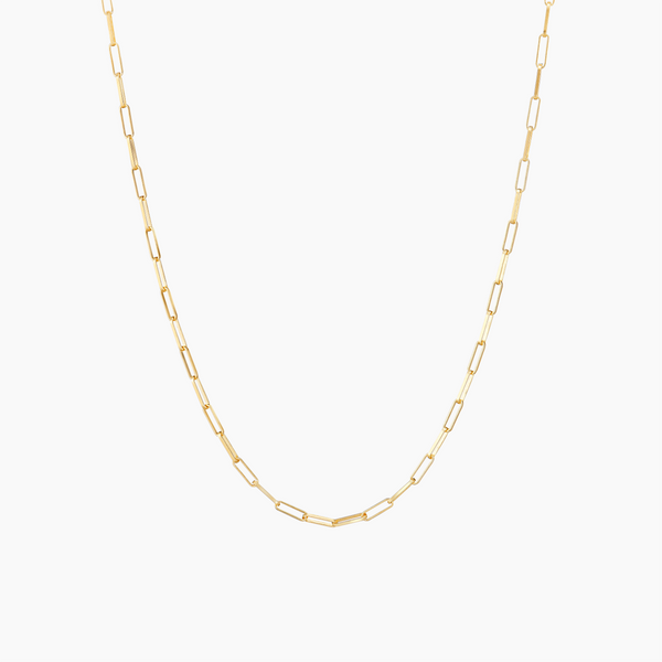 Large Rolo Chain Gold Vermeil