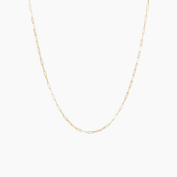 Medium Rolo Chain Gold Vermeil