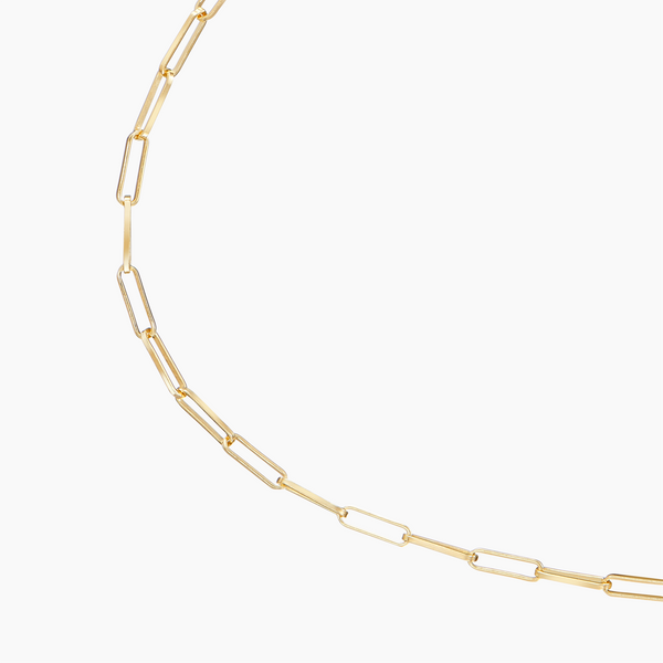 Medium Rolo Anklet Gold Vermeil
