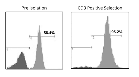CD3 Positive Selection Histogram