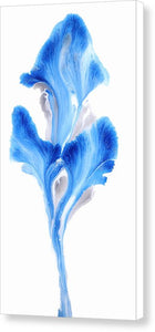 Petals Of Cobalt - Canvas Print