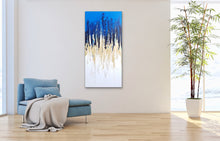 "Load image into Gallery viewer, Glory - 24"" x 48"" Original Fluid Acrylic Painting"
