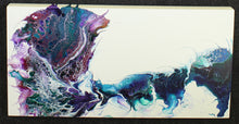 "Load image into Gallery viewer, Whirlwind of Color - 12"" x 24"" Original Fluid Acrylic Painting"