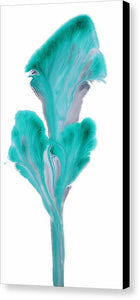 Petals Of Emerald - Canvas Print