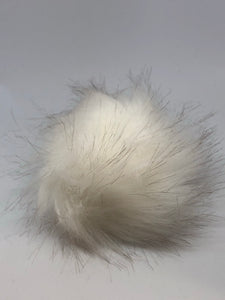 Copy of Faux Fur Pom Pom (White)