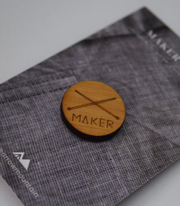 Maker Badge- Knitting