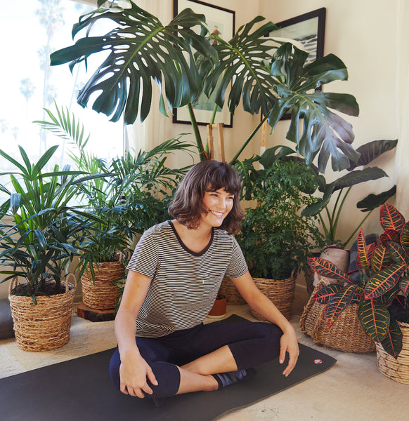 Center your mind and body with plants