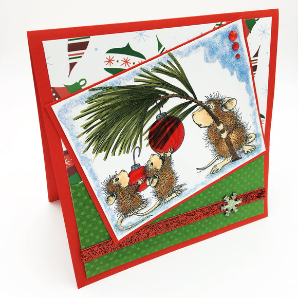 Handcrafted Christmas Holiday Cards