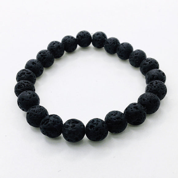 Nothing But Lava Stones Diffuser Bracelet - Paper & Pretties