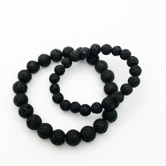 Nothing But Lava Stones Diffuser Bracelet Set
