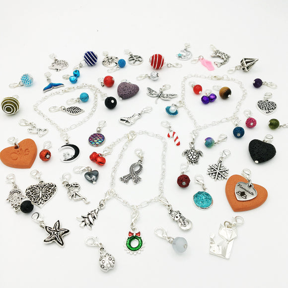 Paper & Pretties Charm Bracelet Advent Calendar Charms and Essential Oil Diffuser Charms