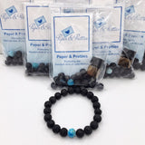 Single Chakra Essential Oil Make-And-Take Diffuser Bracelet Kit