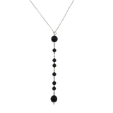 Sterling Silver Morse Code Diffuser Necklace