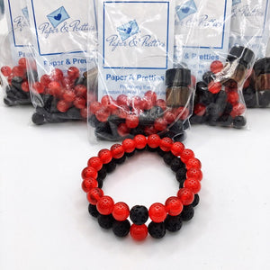 Yin Yang Essential Oil Make-And-Take Diffuser Bracelet Kit