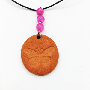 Butterfly Terracotta Car Diffuser