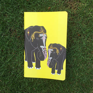 Temple Elephant Notebook