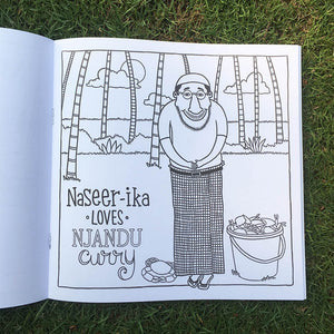 The Malayalee Alphabet Colouring Book