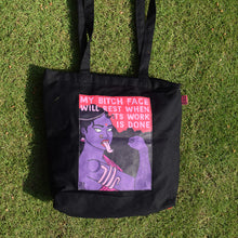 Load image into Gallery viewer, Bitch Face Tote Bag