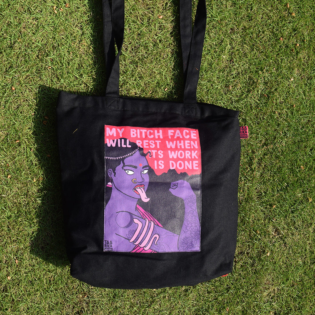 Bitch Face Tote Bag