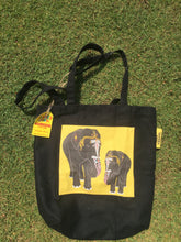 Load image into Gallery viewer, Temple Elephant Tote Bag