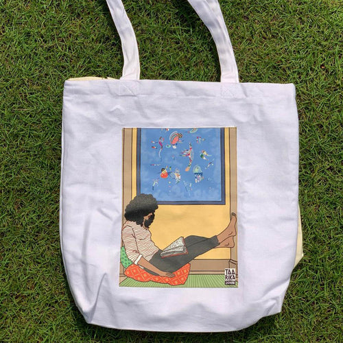 The Reader II Tote Bag