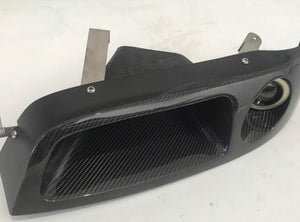 R33 Carbon Fiber Headlight Vent with Light