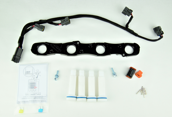 EVO4 to EVO9 R35 Coil Bracket, Harness and Stalks