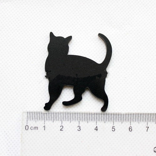 ACRYLIC BLACK CAT BLANKS