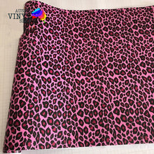 Load image into Gallery viewer, PINK ANIMAL PRINT STYLE ADHESIVE VINYL *AUTO GRADE*