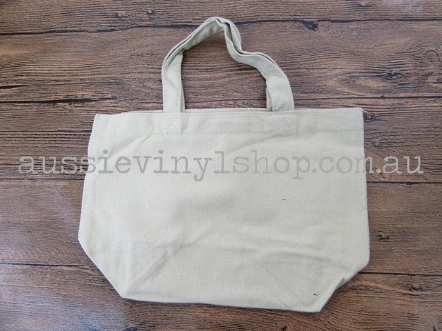 WHITE HEMP SHOPPING/TOTE BAG - Aussie Vinyl Shop