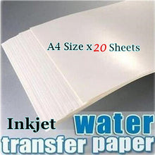 Load image into Gallery viewer, X20 A4 WATERSLIDE DECAL TRANSFER PAPERS (INKJET) - Aussie Vinyl Shop