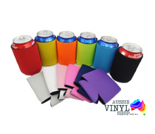 Load image into Gallery viewer, NEOPRENE STUBBY/CAN HOLDERS KOOZIE (FOLDABLE) - Aussie Vinyl Shop