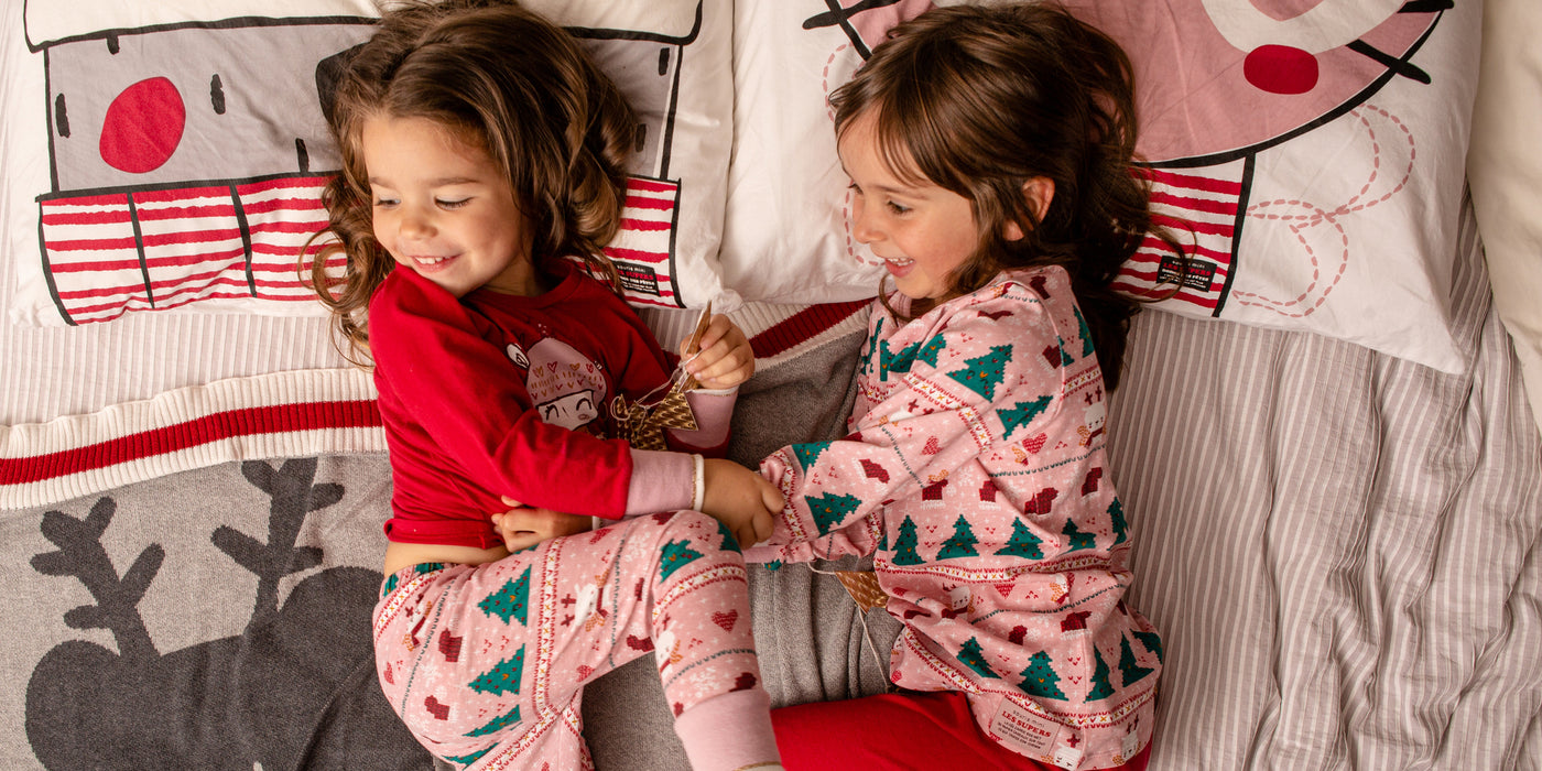 Pyjamas des Fêtes pour fille 0/3 mois à 2/3 ans||Holiday Pajamas For 0/3 months to 2/3 Years Girl