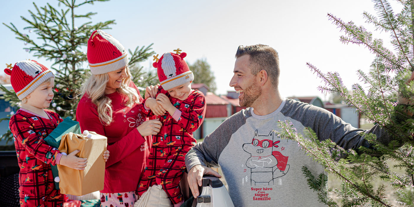 Pyjamas des Fêtes pour maman et papa||Holiday Pajamas For Mommy & Daddy