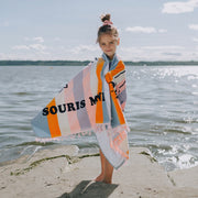 Serviette de plage, fille || Beach Towel, Girl