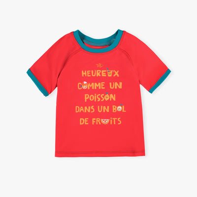 T-shirt de bain rouge || Red Swim T-shirt