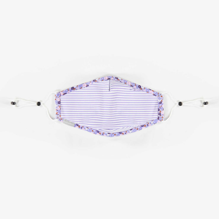 Masque mauve pour ADULTES en tissu antibactérien. || ADULTS Purple Mask Made In Antibacterial Fabric