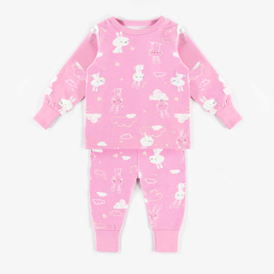 Pyjama évolutif rose || Pink Adjustable Pyjamas