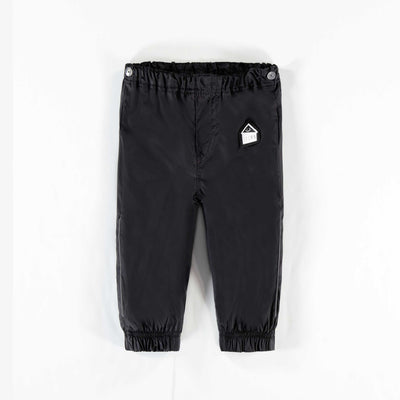 Pantalon de nylon noir || Black Nylon Pants