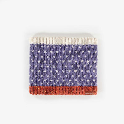 Cache-cou mauve, bébé fille || Purple Neck Warmer, Baby Girl